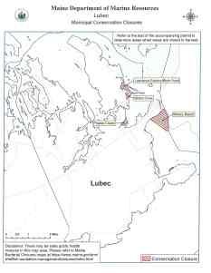 Lubec closure map August 6, 2021